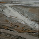 Sand Lines. Monoprint, 2007, 29x23cm (sold 3 of 3 ).