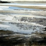 Silver bay. Monoprint, varied edition of 3. 2008, 26x33cm (sold 3).