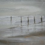 Winter Sands. Monoprint, 2009. Varied edition of 3. ( 3 of 3 sold ).