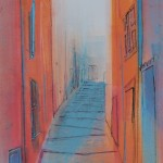 Collioure. Monoprint. 2012. Varied Edition / AP. (1 sold).