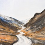 Honister Pass. Acrylic and mixed media. 55cm x 65cm. 2011.(sold).