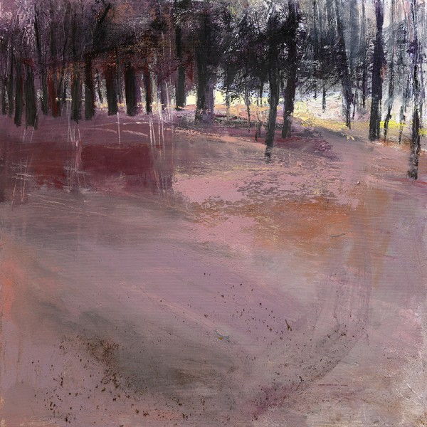 On The Knott. Acrylic on linen. 60cm x 70cm.