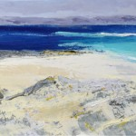 Iona Beach 3. Acrylic and mixed media. (Sold).