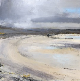 Traigh Beach 1. 90cm x 90cm. jpg copy